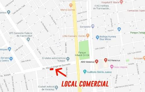 se vende exceente local comercial en av. xalapa
