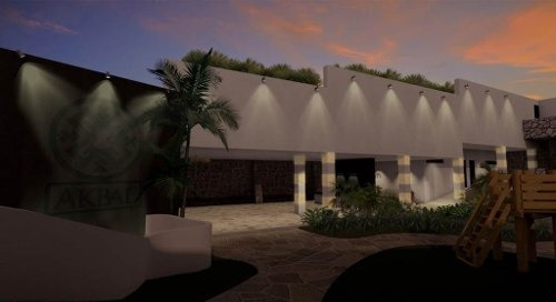 se vende excelente terreno akbal residence - vista real