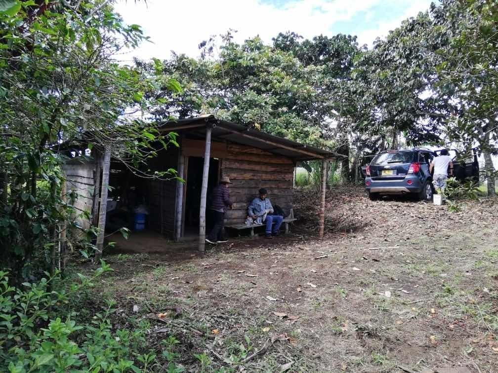 se vende finca en la vereda la sabana (popayán cauca)