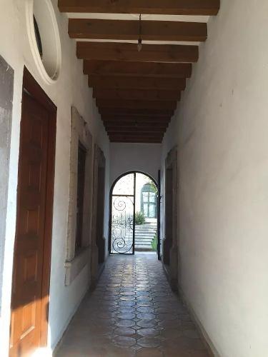 se vende hermosa residencia en el centro histórico de querétaro, t.460 m2