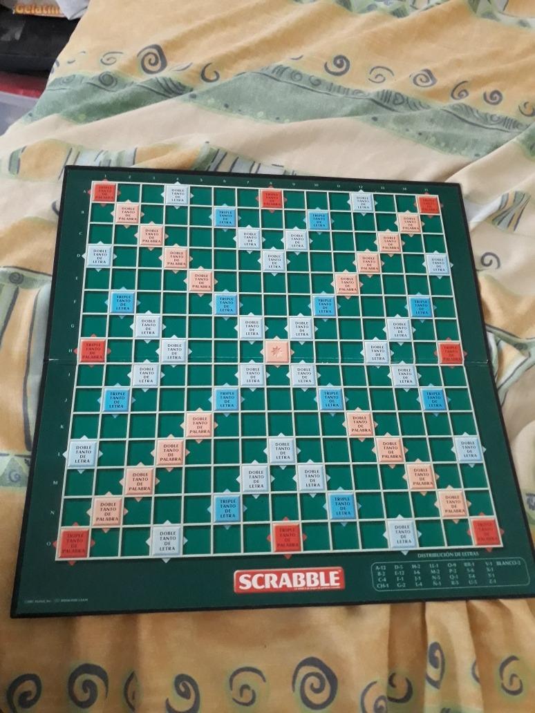 Se Vende Juego De Mesa Scrabble 150 00 En Mercado Libre