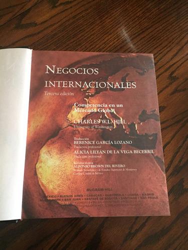 se vende libro negocios internacionales