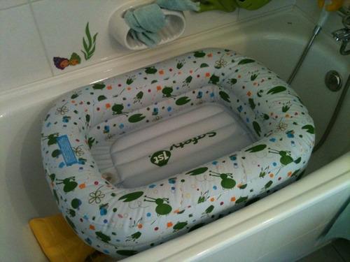 se vende linda bañera inflable