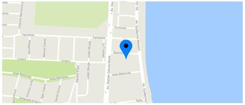 se vende lote a metros del mar - puerto madryn