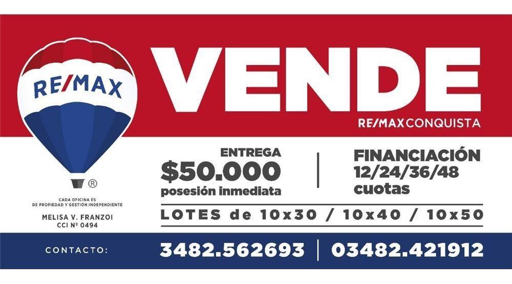 se vende lote con entrega de $50.000 en berna