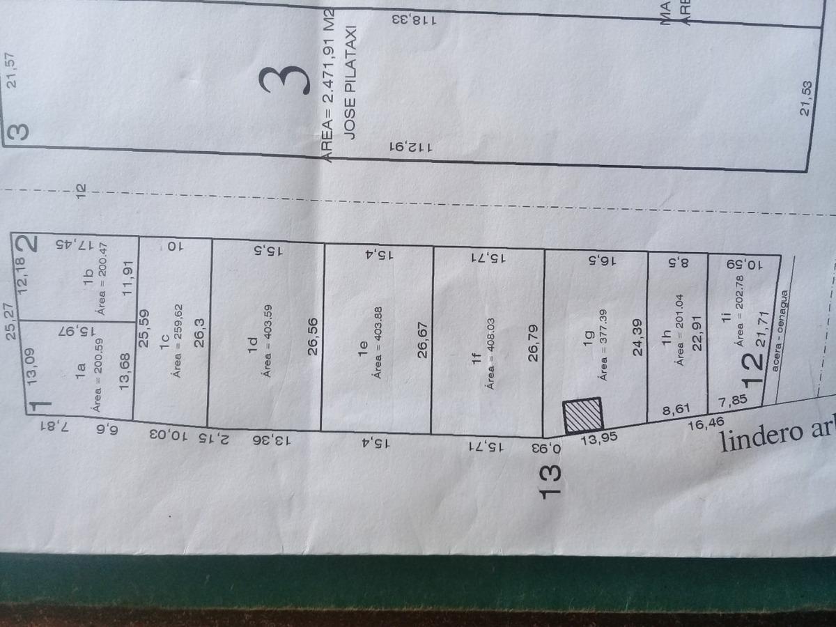 se vende lotes de 200 m2 y 400m2