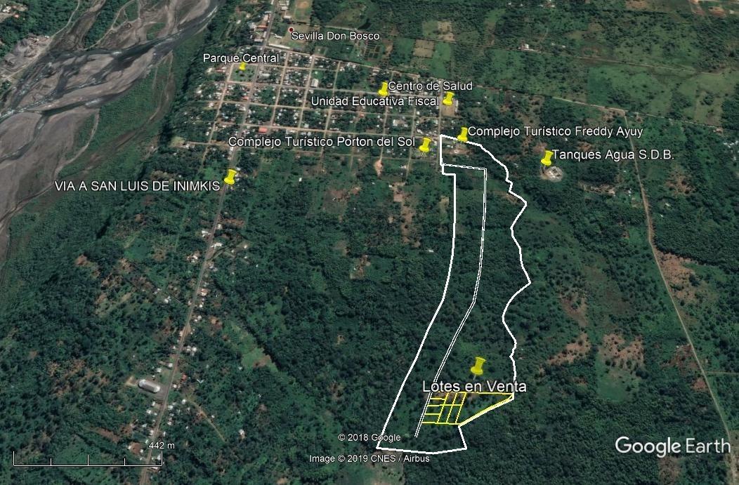 se vende lotes de terreno de 1200 m2 en sevilla don bosco