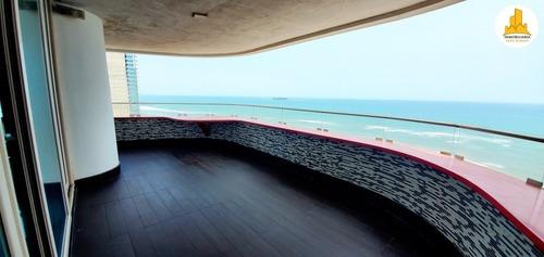 se vende lujoso departamento con vista al mar en veracruz