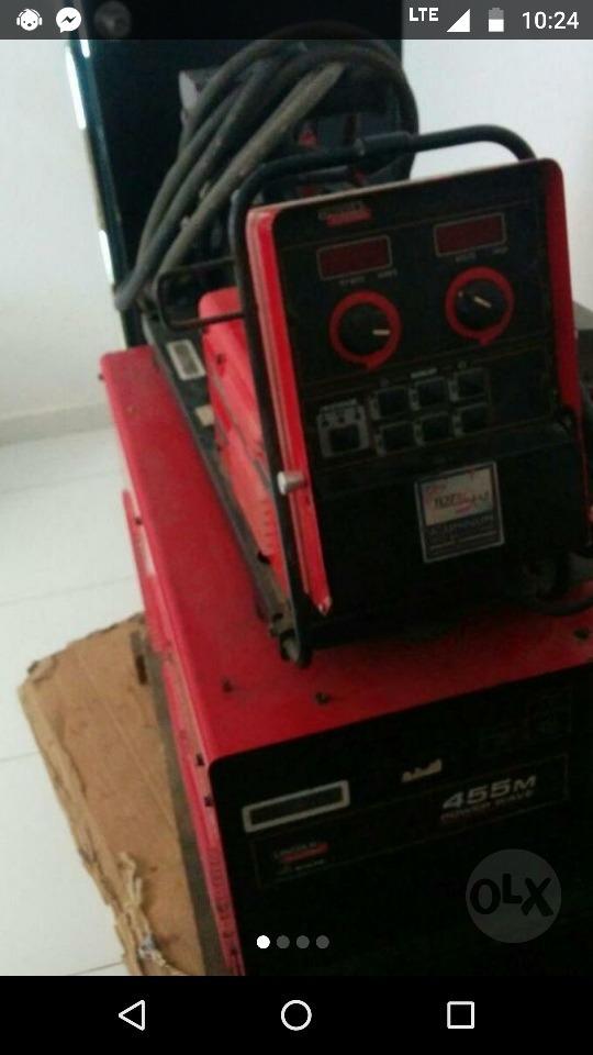se vende maquina de soldar power have 455m