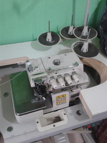 se vende máquina overlok de 4hilos