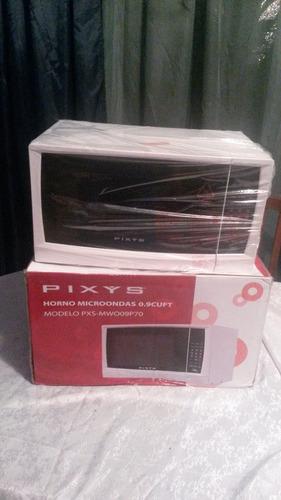 se vende microondas 0.9 cuft blanco marca pixys nuevo