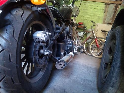 se vende moto rigal raptor 350 cc o permuta por el valor