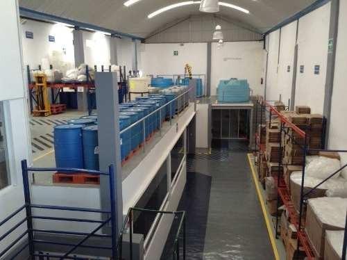 se vende nave industrial acondicionada para fabricación de material de