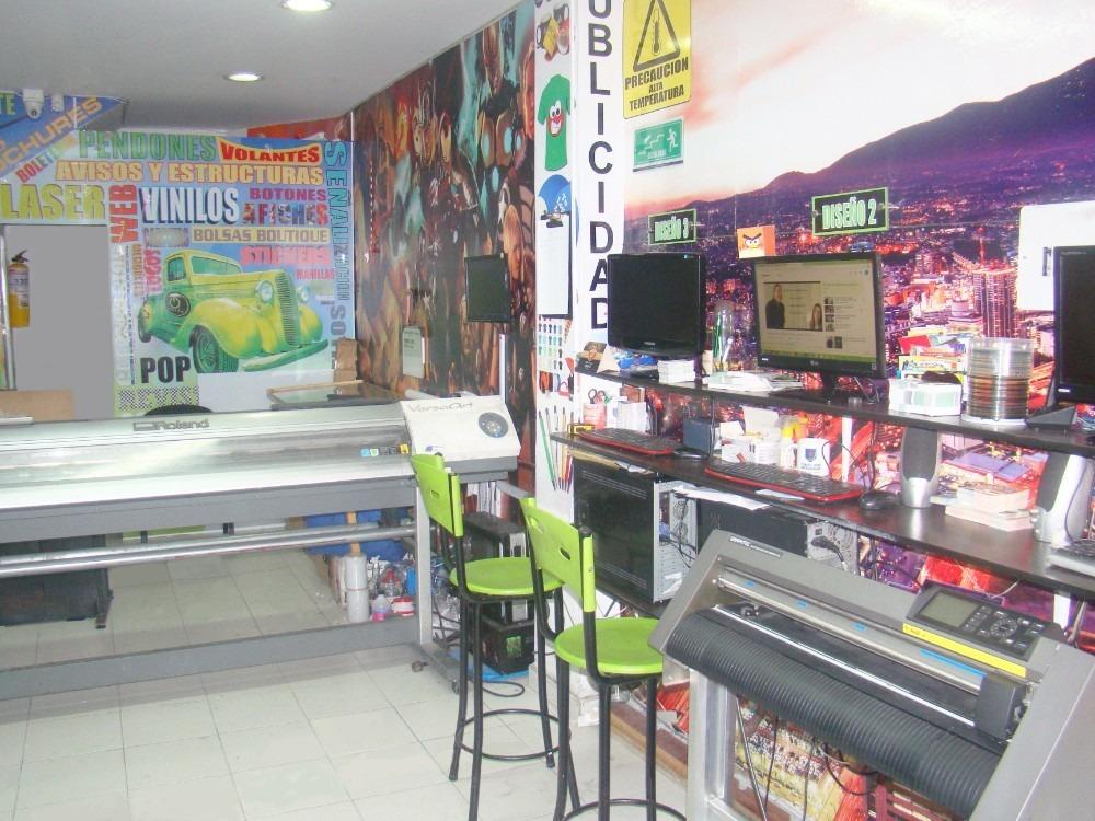 se vende negocio de publicidad impresión gran formato, láser