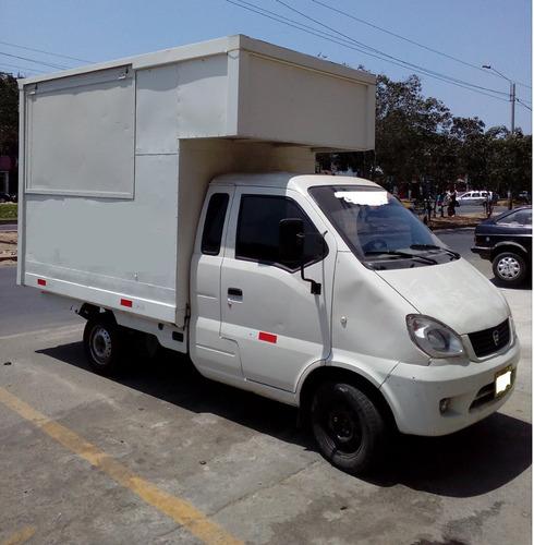 se vende o alquila food truck  para venta de comida rápida
