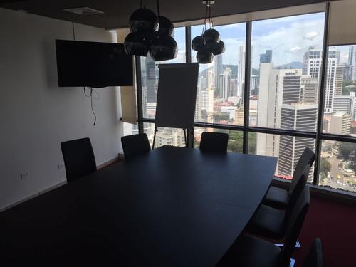 se vende oficina de 286m2 en obarrio, torre generalli