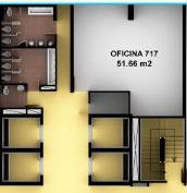 se vende oficina torre hhc cedritos 140