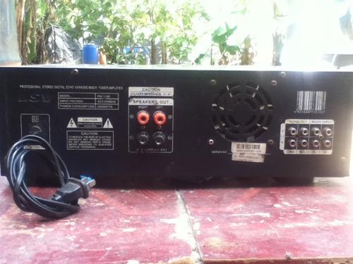 se vende sonido casero planta lsv con un bajo 18 y dos 15