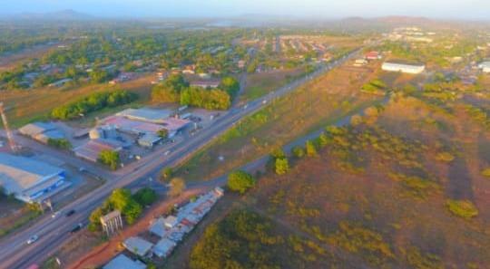 se vende terreno comercial de 17,100m2 en aguadulce