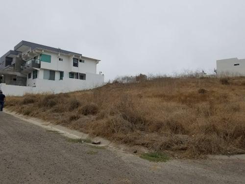 se vende terreno con vista al mar en san marino residencial, tijuana