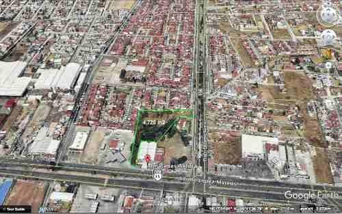 se vende terreno de 4,700 m2 toluca , edo de mex