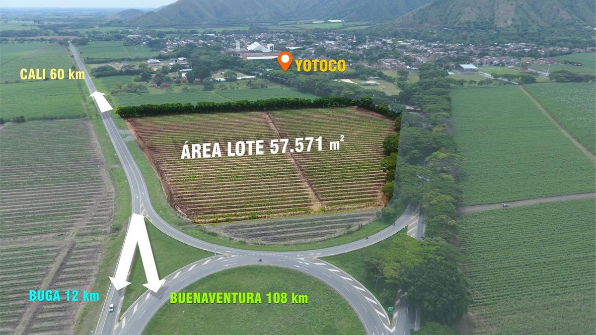 se vende terreno de 5.75 ha en yotoco sobre la carretera ppa