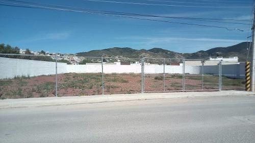 se vende terreno en avenida principal en el ceuni, pachuca