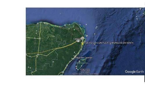 se vende terreno en cancun carretera puerto morelos