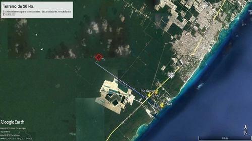 se vende terreno en la riviera maya, playa del carmen