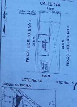 se vende terreno en ranchería juarez!! urge !!