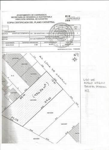 se vende terreno para uso residencial o comercial clave tt841