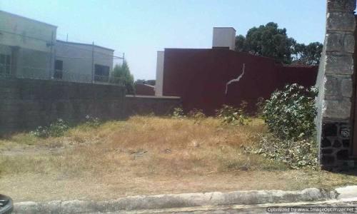 se vende terreno plano de 258 m2 en fraccionamiento cerrado en tzompan