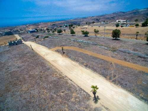 se vende terreno plano, en campo real, 207.83m2,  en rosarito. b.c.