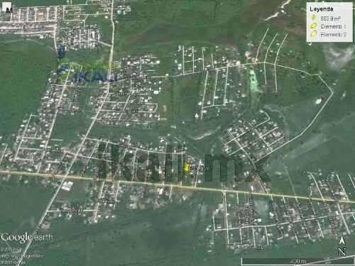se vende terreno tuxpan ver. en la calle encino, a media cuadra del libramiento av. lopez mateos en la colonia ampliación rodríguez cano, en el puerto de tuxpan veracruz, son 611 m² tiene 19.85 metro