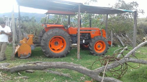 se vende tractor kubota 8030 con retobo renovadordprad arado