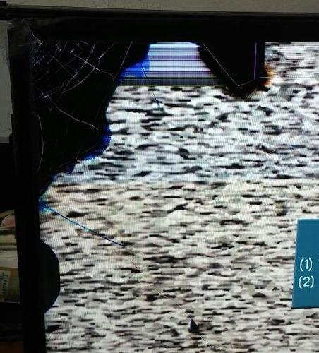 se vende tv led samsung modelo un32eh5000 funcionando. leer