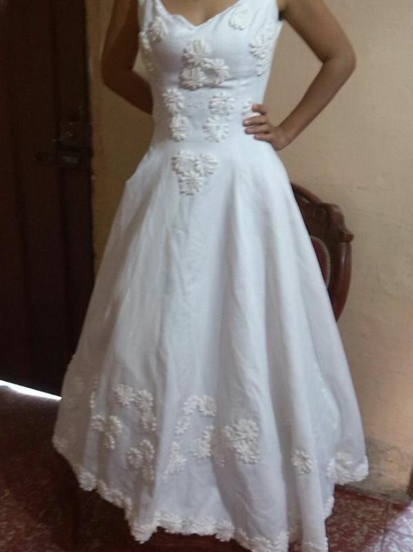 se vende vestido para novia o quinceañera - bs. 3.000,00 en mercado