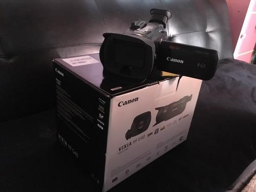se vende videocamara canon vixia hf g40 hd