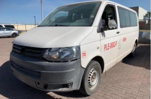 se vende  vw transporter por partes 2013