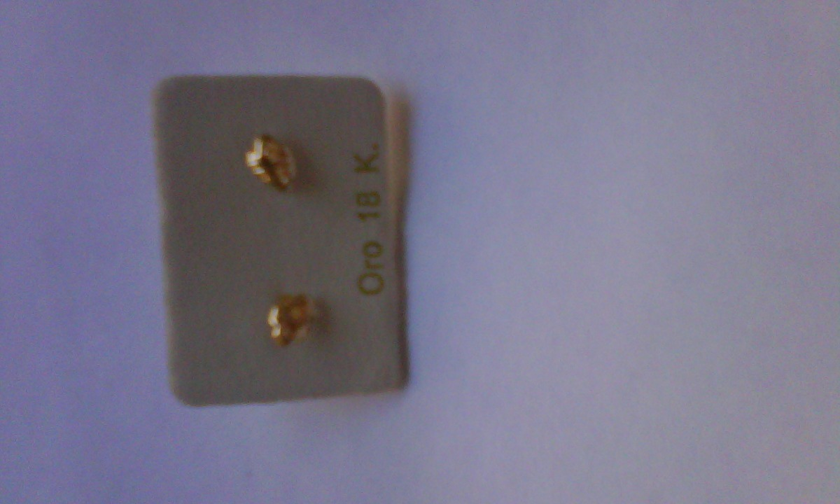 52a79ae8e9fd se vende zarcillos de oro 18k. Cargando zoom.