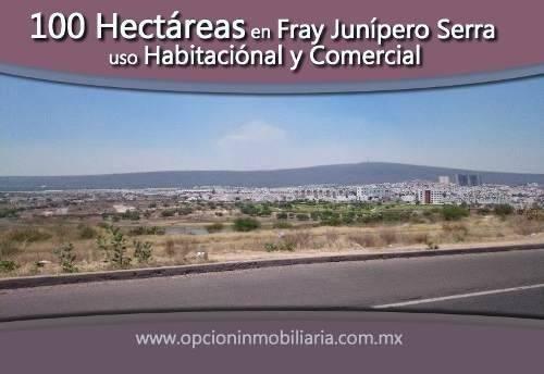se venden 100 hectáreas en fray junípero serra, a un costado