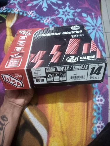 se venden 2 cajas de cable n°14