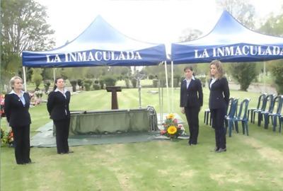 se venden 4 lotes en el parque cementerio la inmaculada.