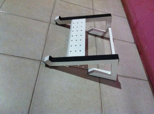 se venden base para laptop controladores y consolas