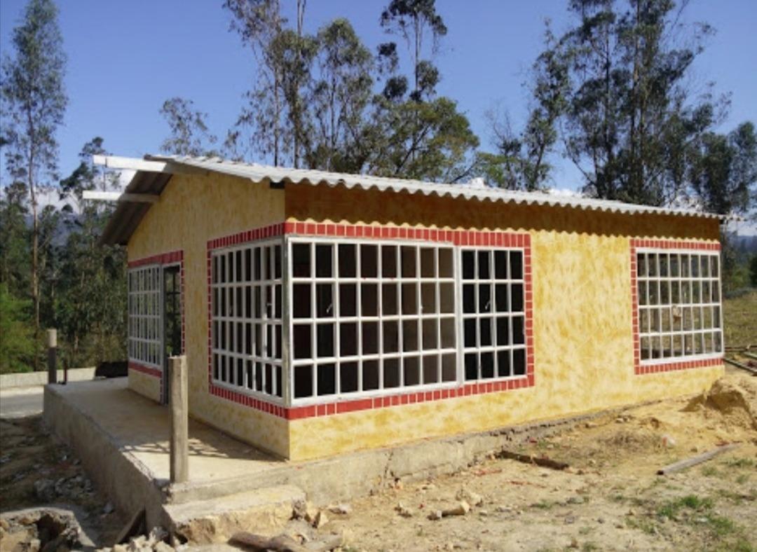 se venden casas prefabricadas exelentes modelos.
