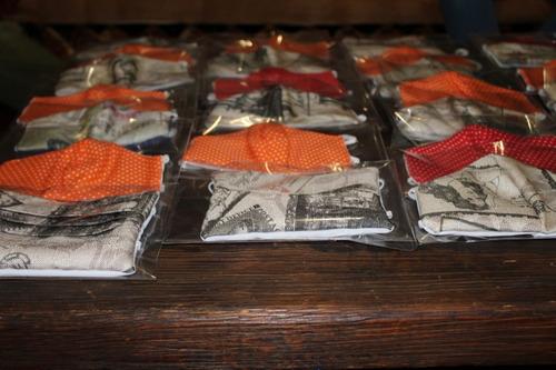 se venden cubre bocas de tela reforzados!