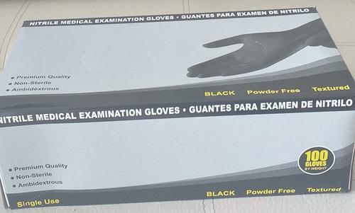 se venden guantes de nitrilo talla s - negro