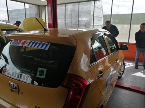 se venden o se permutan taxis usados kia picanto en bogota