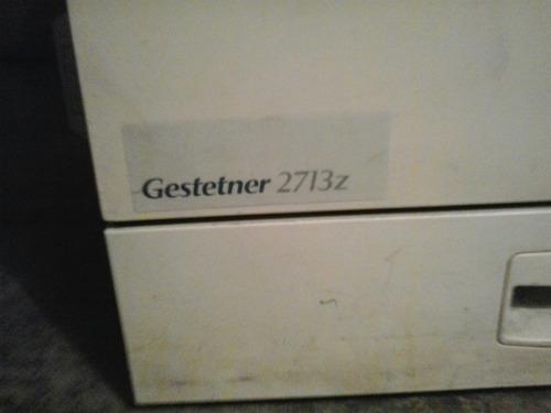 se venden partes de fotocopiadoras gestetner y canon