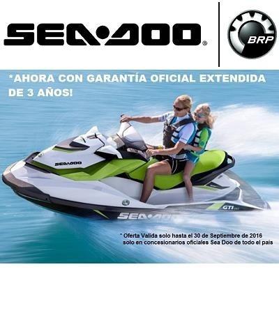 sea doo gti 90 2017- única unidad disponible - motomarine